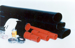 Heat shrink insulation tubes for power cable terminals joints